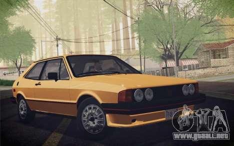 Volkswagen Scirocco S (Typ 53) 1981 IVF para la visión correcta GTA San Andreas