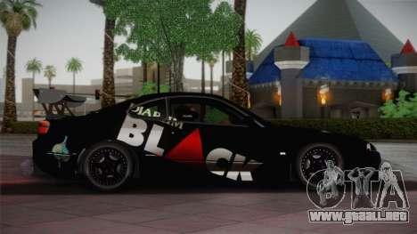 Nissan S15 Street Edition Djarum Black para GTA San Andreas left