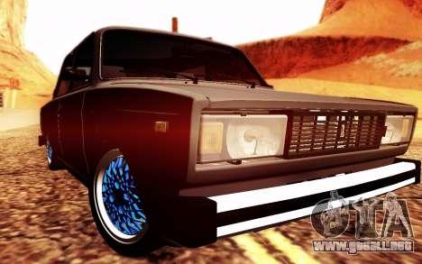 VAZ 2105 postura para GTA San Andreas