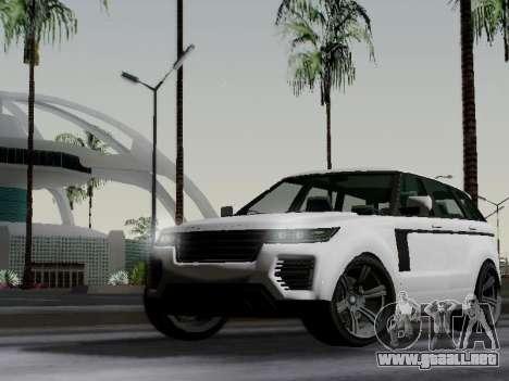 Baller 2 из GTA V para GTA San Andreas