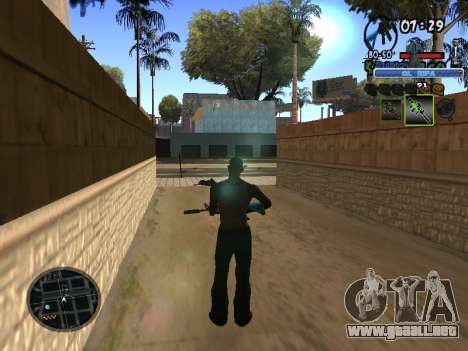 С-HUD de Edad Rifa para GTA San Andreas tercera pantalla
