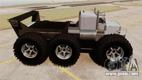The Biggest Monster Truck para GTA 4 left