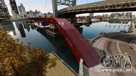 Nuevo puente en el Este de la isla de la ciudad para GTA 4