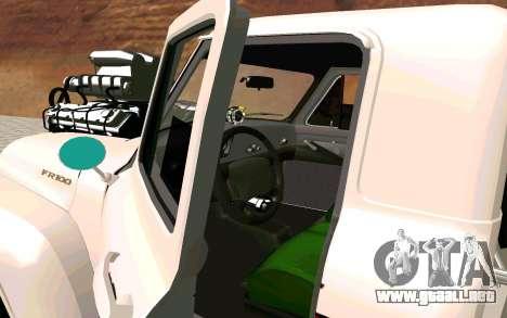 Ford FR-100 para GTA San Andreas vista posterior izquierda