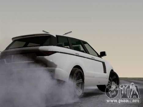 Baller 2 из GTA V para visión interna GTA San Andreas