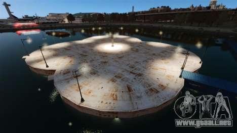 Arena para el combate de vehículos para GTA 4 adelante de pantalla