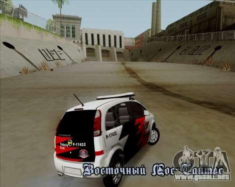 Chevrolet Meriva para visión interna GTA San Andreas