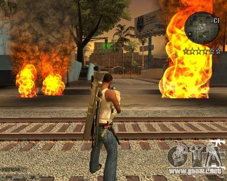 C-HUD CS:GO para GTA San Andreas
