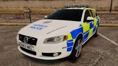 Volvo V70 South Wales Police [ELS] para GTA 4