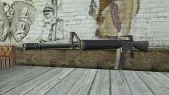 M4A1 из Postal 3 para GTA San Andreas