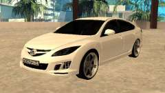 Mazda 6 2010 para GTA San Andreas