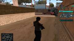 C-HUD Aztecas Gang para GTA San Andreas