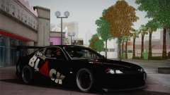 Nissan S15 Street Edition Djarum Black para GTA San Andreas