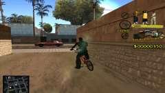 C-HUD Vagos Gang para GTA San Andreas