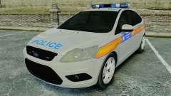 Ford Focus Metropolitan Police [ELS] para GTA 4