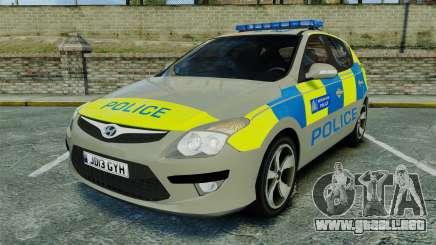 Hyundai i30 Metropolitan Police [ELS] para GTA 4