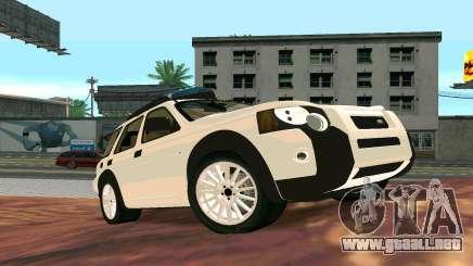 Land Rover Freelander para GTA San Andreas