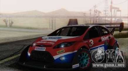 Ford Fiesta Omse HillClimb para GTA San Andreas