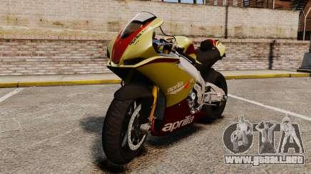 Aprilia RSV4 para GTA 4