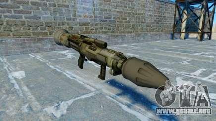 Granada antitanque lanzador quijada v2.0 para GTA 4