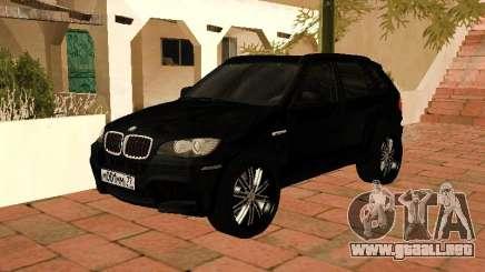BMW X5 E70 2009 para GTA San Andreas