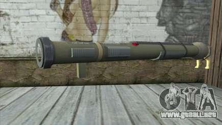 El lanzador de cohetes de Pstal 3 para GTA San Andreas