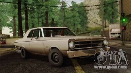 Plymouth Belvedere 2-door Sedan 1965 para GTA San Andreas