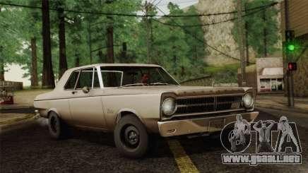 Plymouth Belvedere 2-door Sedan 1965 para GTA San Andreas
