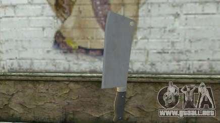 Cuchillo de cocina de Postal 3 para GTA San Andreas