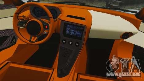 Jaguar C-X75 2014 [EPM] para GTA 4 vista lateral