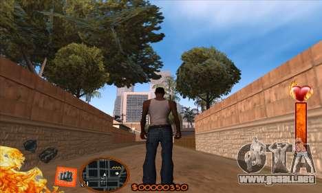C-HUD Fire para GTA San Andreas