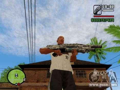 M-86 Sabre v.2 para GTA San Andreas sexta pantalla
