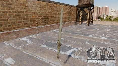 Espada-Rebelión- para GTA 4 segundos de pantalla