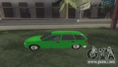 Chevrolet Corsa Wagon para GTA San Andreas left