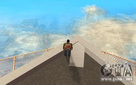 Cambiar el rango de representación para GTA San Andreas tercera pantalla