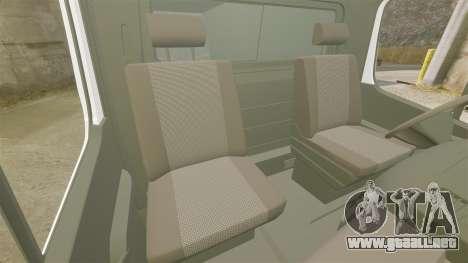 Mercedes-Benz Sprinter TF1 News [ELS] para GTA 4 vista interior