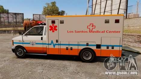 Brute LSMC Paramedic para GTA 4 left
