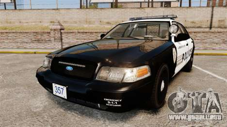 Ford Crown Victoria LCPD [ELS] para GTA 4