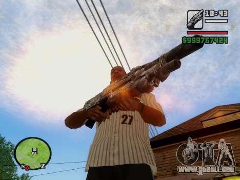 M-86 Sabre v.2 para GTA San Andreas octavo de pantalla