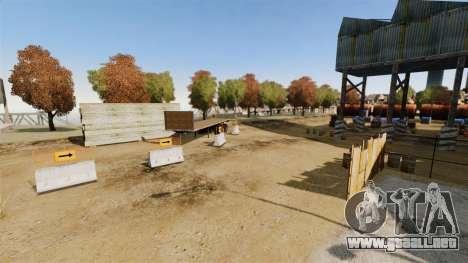 Off-road de pista v2 para GTA 4 novena de pantalla