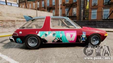 AMC Pacer 1977 v2.1 Mitchie M para GTA 4 left
