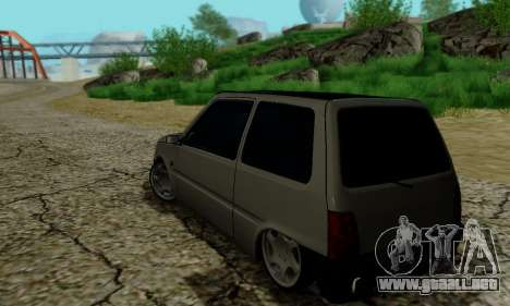 VAZ 1111 para visión interna GTA San Andreas