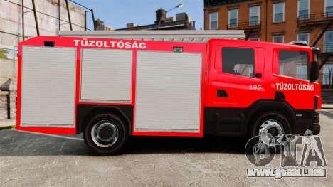 Húngaro camión de bomberos [ELS] para GTA 4 left