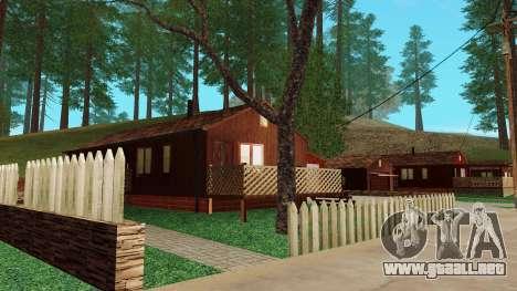 Una casa en el pueblo para GTA San Andreas sucesivamente de pantalla