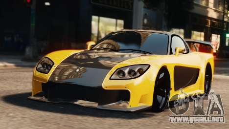 Mazda RX7 Veilside V8 para GTA 4
