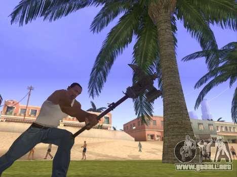 Baton Marker para GTA San Andreas segunda pantalla