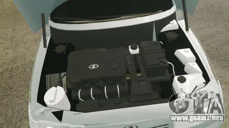 VAZ-2110 110 Bogdan para GTA 4 vista interior