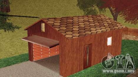Una casa en el pueblo para GTA San Andreas tercera pantalla