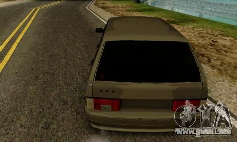 De los FLOREROS 2115 de Inmuebles para GTA San Andreas vista posterior izquierda