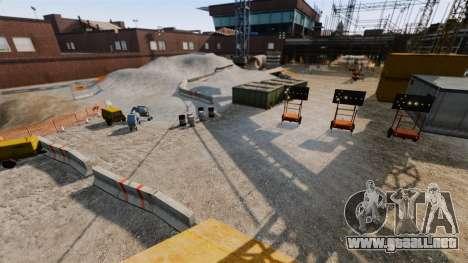 Off-road de pista para GTA 4 adelante de pantalla